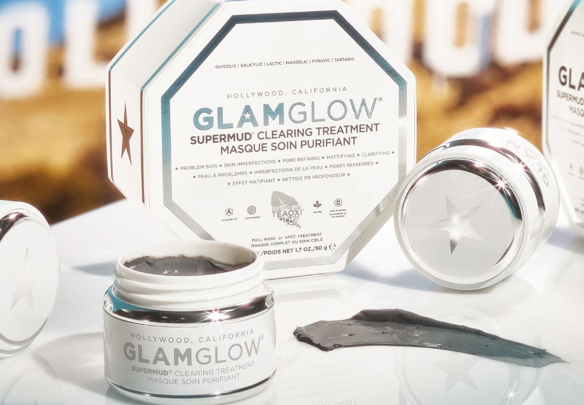 Nyt hos os: Oplev GlamGlows populære ansigtsmasker for