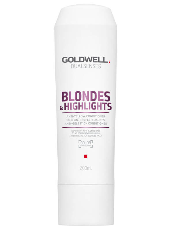 Goldwell Dualsenses Blondes & Highlights Anti-Yellow Conditioner i gruppen Hårpleje / Balsam / Silverbalsam hos Bangerhead.dk (B024882r)
